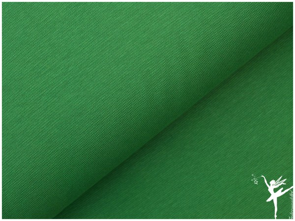 Bündchen UNI Grün Glatt