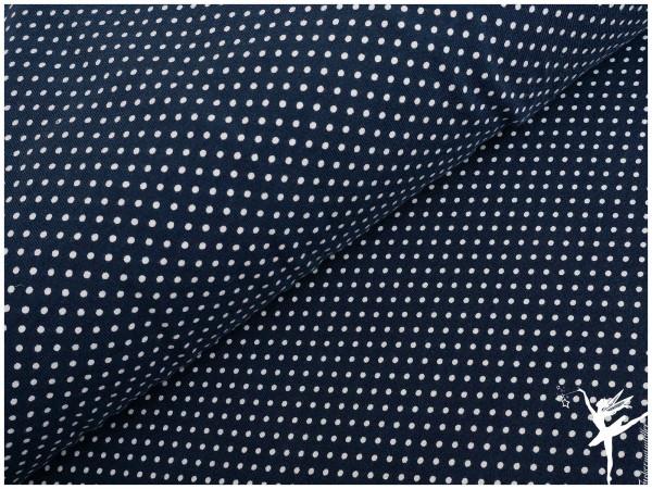 STENZO Jersey Blau/Weiß Mini Punkte