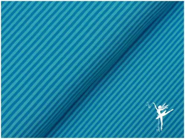 STENZO Ringel Jersey Türkis Mix 4 mm Stripes