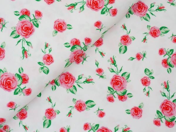 Mandy Digital Jersey Röschen Weiß/Rosa