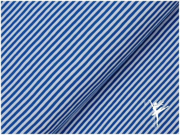 STENZO Ringel Jersey Kobaltblau/Weiß 4 mm Stripes