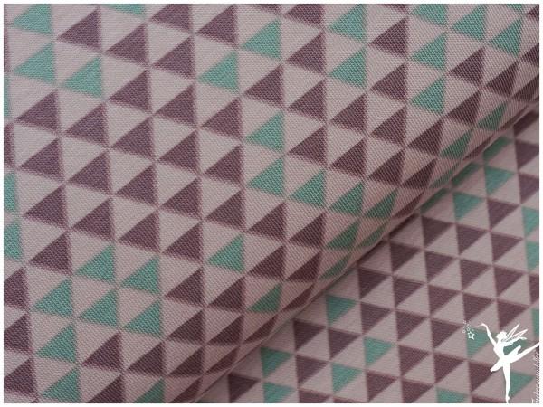 NEU! STENZO Jersey Mini Triangel/Dreiecke Nude