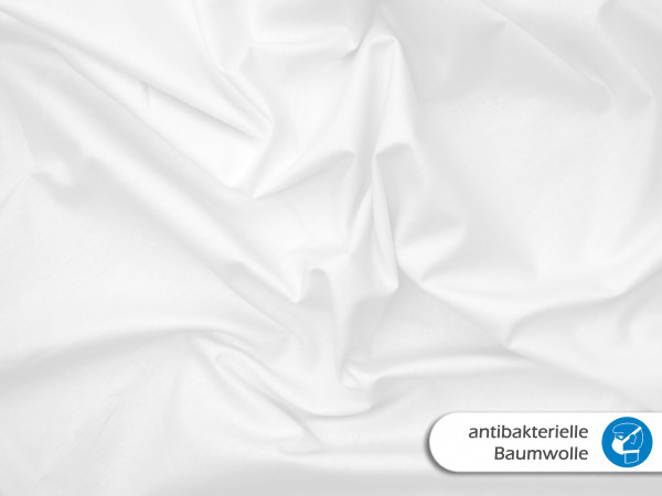 Anitbakterielle Baumwolle Weiß