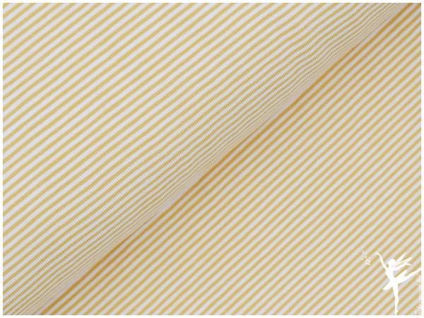 STENZO Ringel Jersey Gelb/Weiß 2 mm Stripes