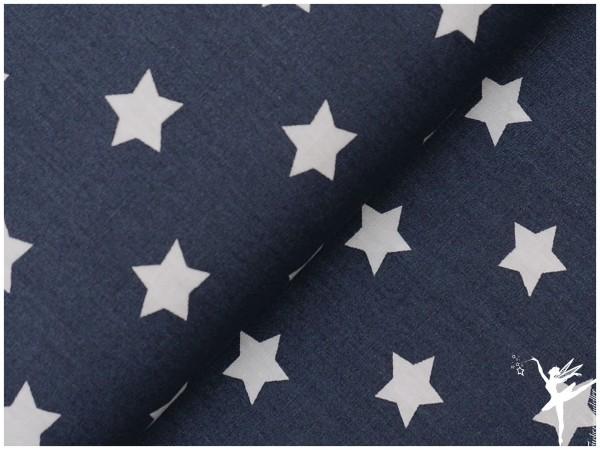 STENZO Dunkelgrau Sterne (mittelgroß) Baumwolle