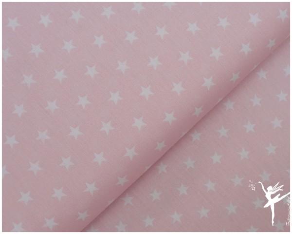 Baumwolle kleine Sterne Hellrosa