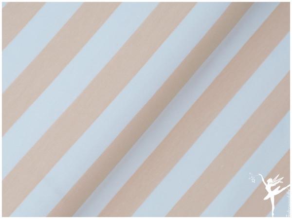 Maxi Stripes Terry Sweat Peach