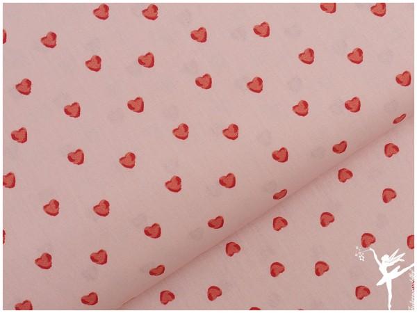 HERZ ♥ BAUMWOLLE Rosa