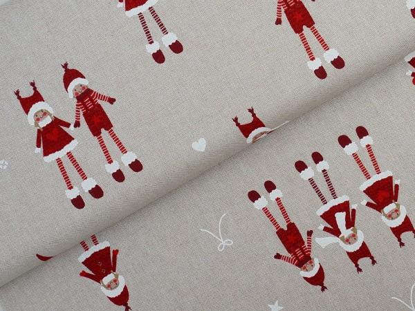 Weihnachten Wichtel CANVAS/DEKO Emilia Rot