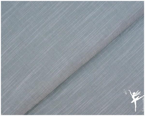 Birch Fabrics Chambray Bio Baumwolle Staubblau