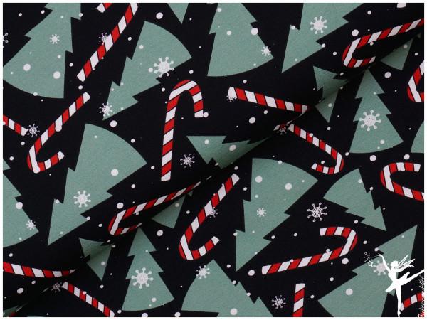Frohe Weihnachten Sweat Schwarz/Bunt