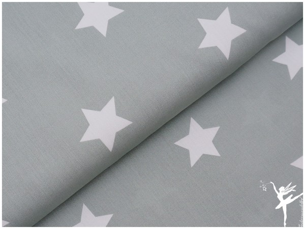 STENZO XL STARS JADE Baumwolle/Popelin