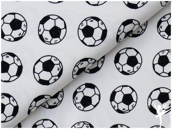 NEU! Jersey Fußball Weiß/Schwarz