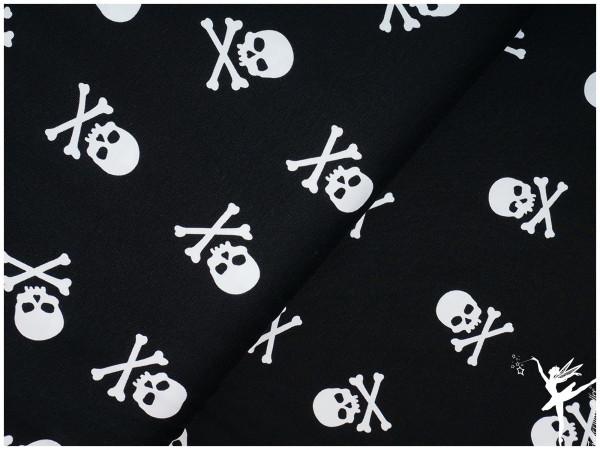 Theo Jersey Totenkops Schwarz/Weiß