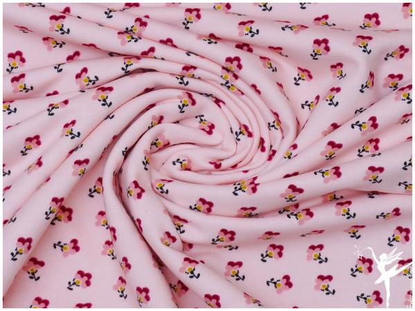 GOTS Soft Sweat Streublümchen Rosa