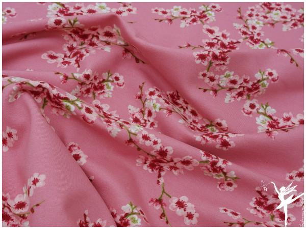 Kirschblüten Sweat Rosa