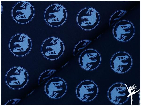 JURASSIC WORLD Baumwolle/Webware Blau