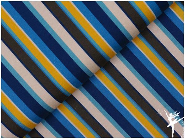 Steinbeck Woddy Jersey Kombi Streifen Blau