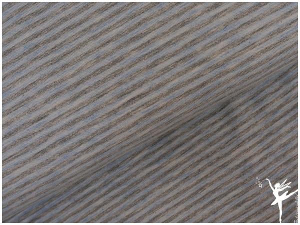 "STENZO Ringel Jersey Helblau/Grau ""Mini Stripes"""