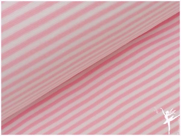 Stenzo Ringel Bündchen Rosa/Weiß Glatt