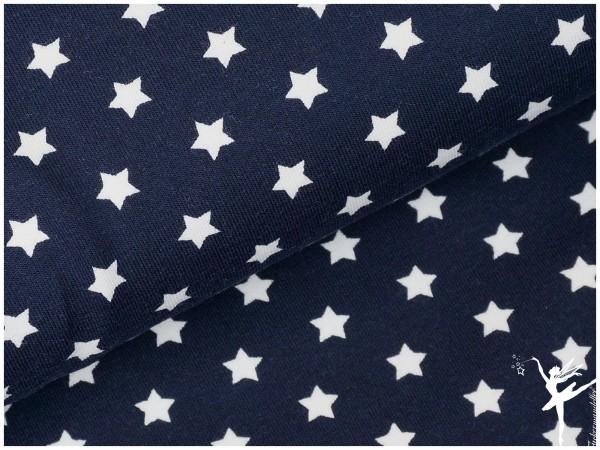 STENZO Jersey kleine Sterne Dunkelblau