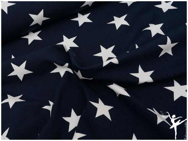Verena Jersey XL Sterne Marine BLAU