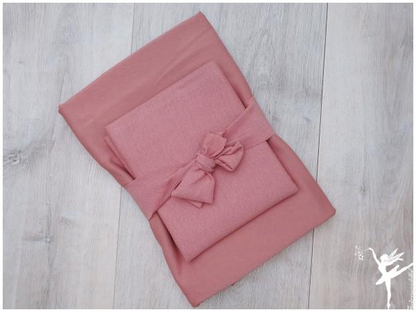 Ton in Ton Paket Bündchen + Uni Jersey Mauve