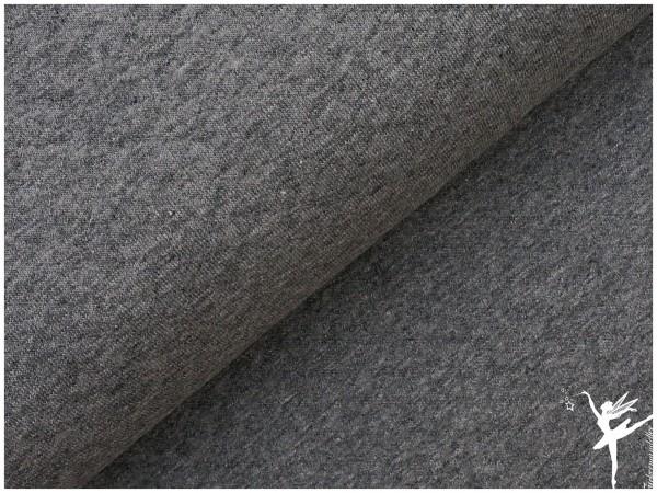 Steppsweat Grau meliert ÖKOTEX
