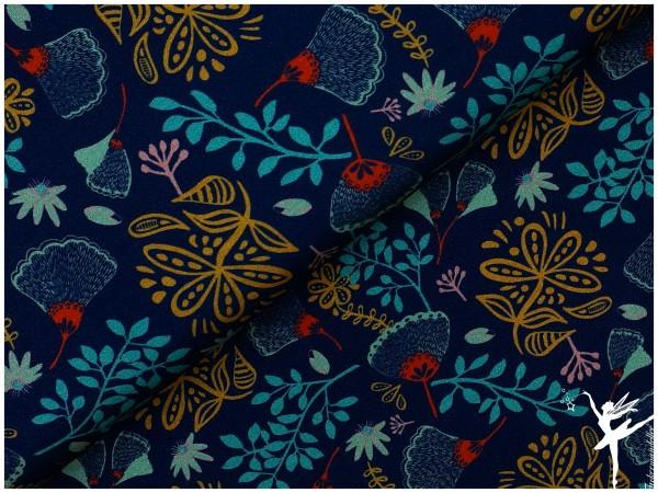 Viscose Jersey Splendour by joljou/Swafing Blau