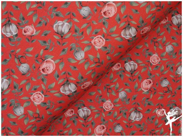 "Digital Jersey ""Rose"" Rot"