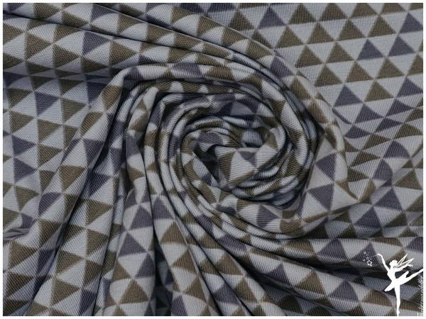 STENZO Jersey Mini Triangel/Dreiecke Jeansblau