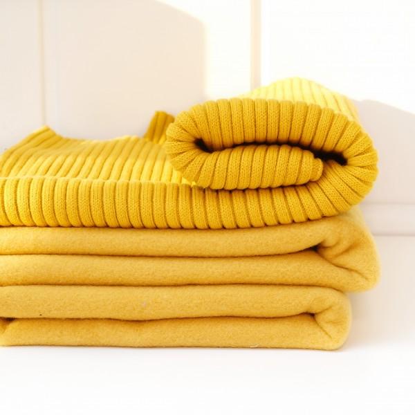 Softcoat ! wie Wolle ! Kuschelweich Senf