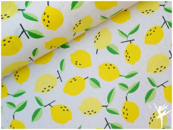 LUNA Wachstuch kleine Zitronen