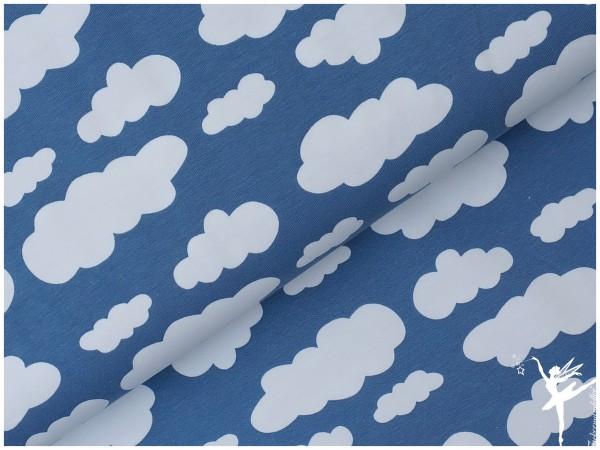 VERENA Jersey Wolken Rauchblau
