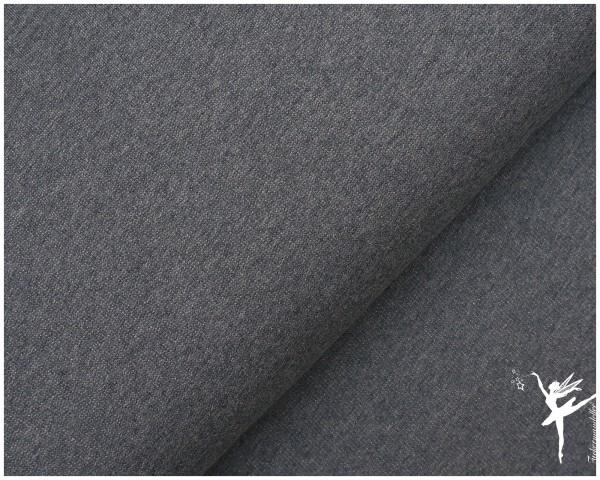SWEAT Baumwolle MELANGE Grau-Grün JENNA