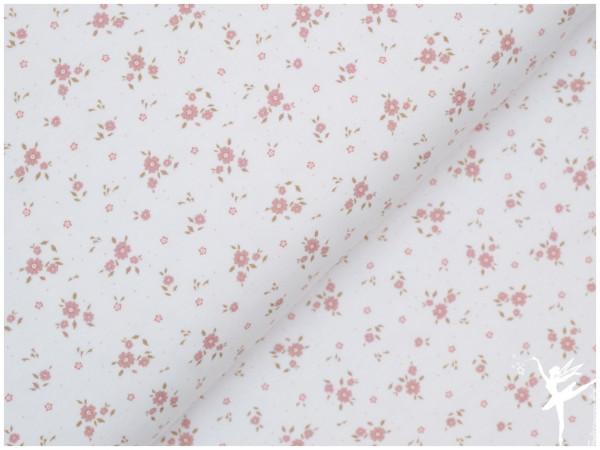 Digital Jersey Streublümchen Weiß/Rosa