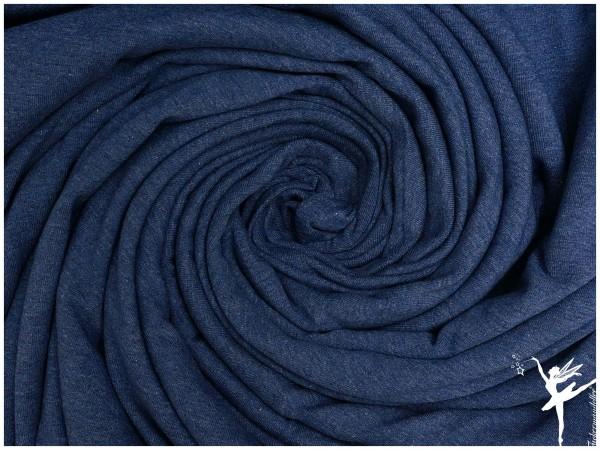 JARO Jersey meliert Jeansblau