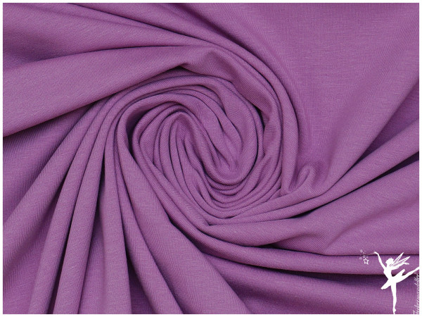 GOTS Uni Jersey Lavendel