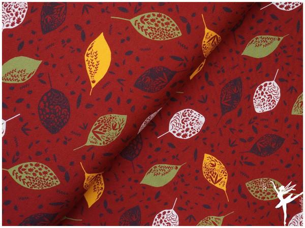 NEU!! Kea Modal Terry Sweat Herbst/Winter Blätter Burgungy 21/22