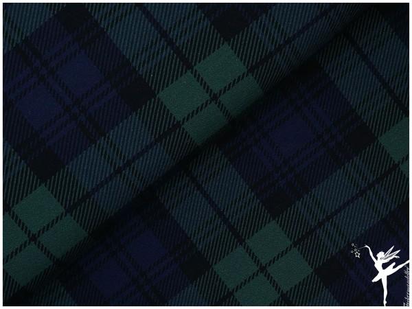 Aberdeen Jersey Karomuster Grün/Blau