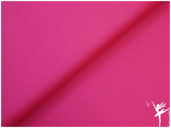 UNI Baumwolle Pink
