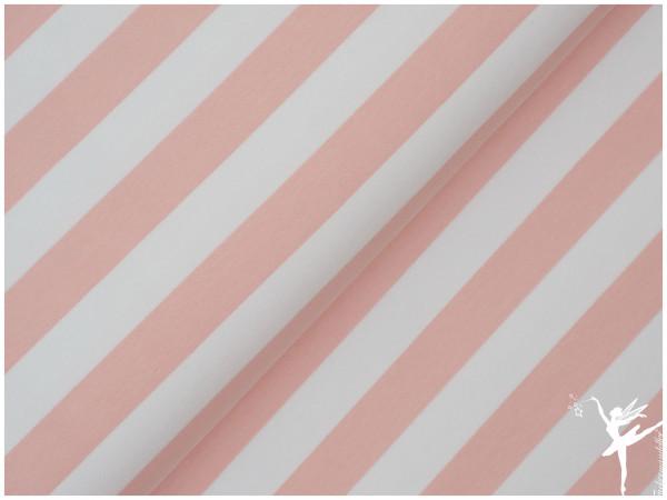 Maxi Stripes Terry Sweat Rosa