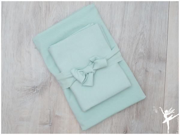 Ton in Ton Paket Bündchen + Uni Jersey Pastell Mint